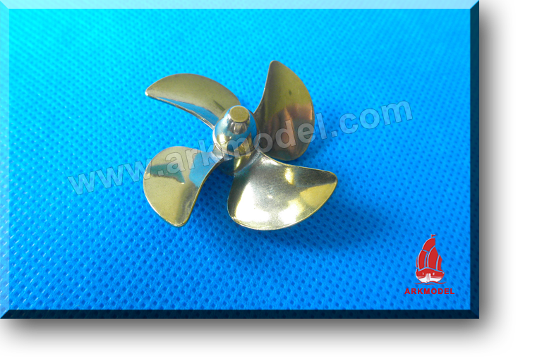 4blades M4 diameter40mm Brass Propeller(L/R) 170 Series