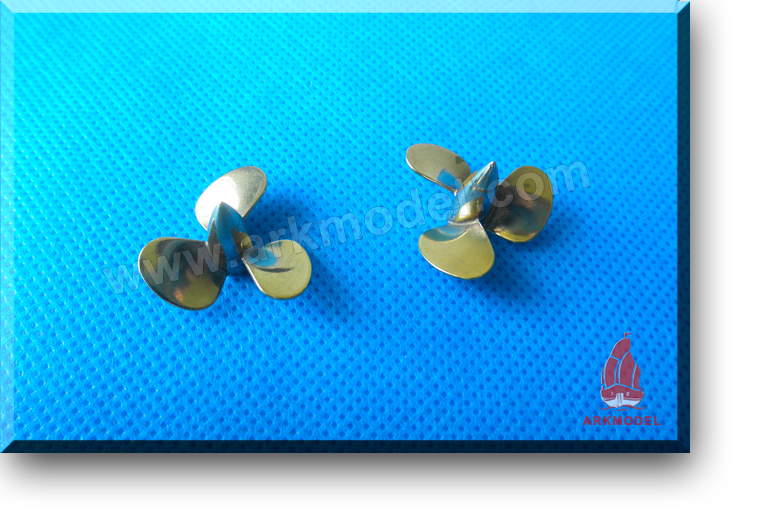 3blades M3 diameter25mm Brass Propeller(L/R) 162 Series