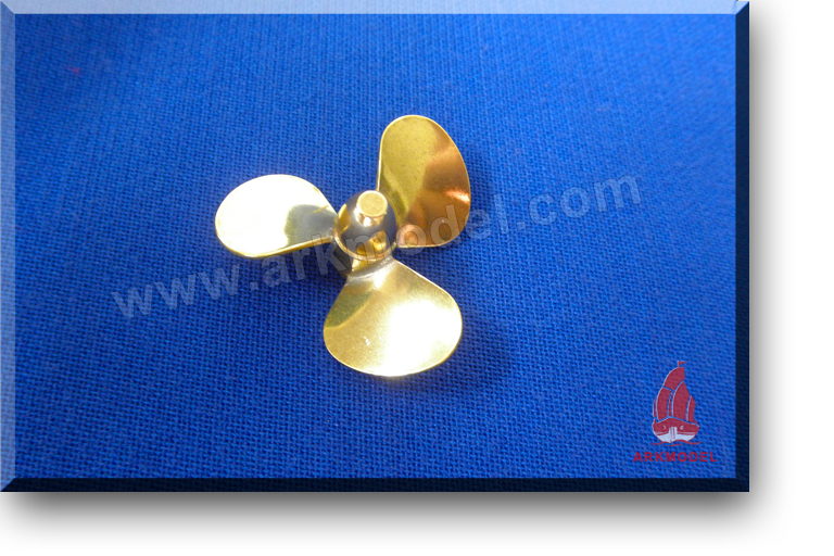 3blades M4 diameter35mm Brass Propeller(L) 156 Series