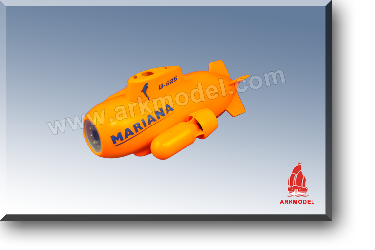 MARIANA MINI SUBMARINE RTR(Camera-72M) D7627FIII
