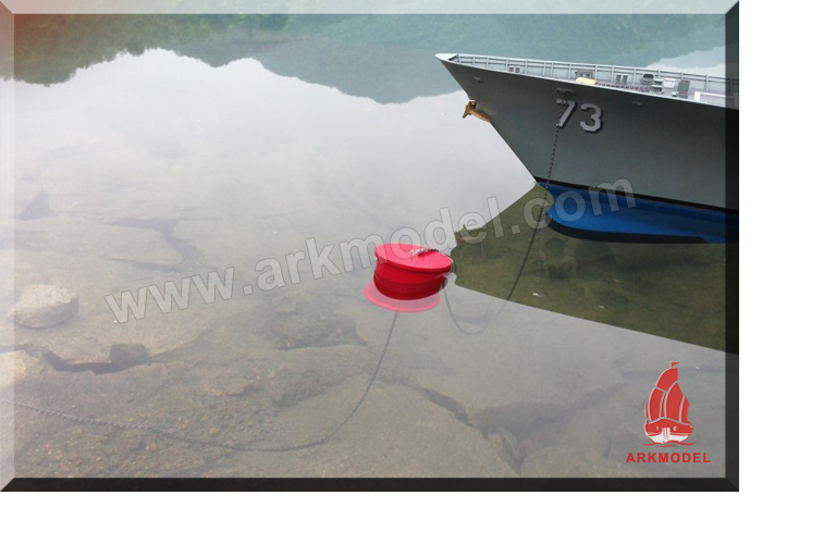 Water drum mooring system
